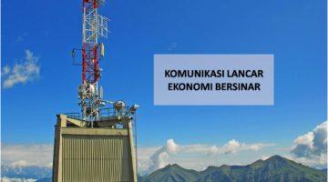Komunikasi Di Timur Lancar, Ekonomi Indonesia Bersinar