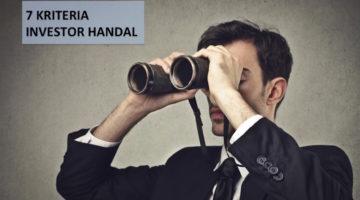 7 Kriteria Menjadi Investor Handal