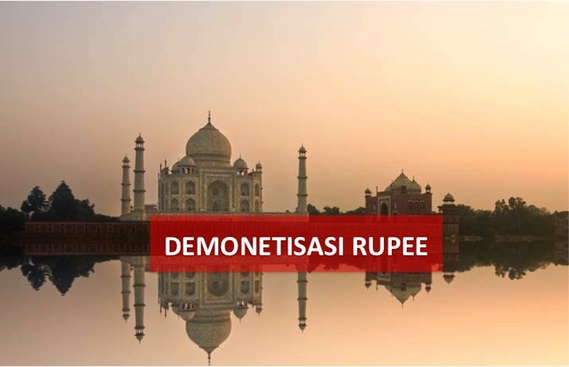 demonetisasi rupee