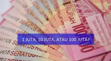 Bagaimana Cara Investasi Rp 1 Juta, Rp 10 Juta, dan Rp 100 Juta?