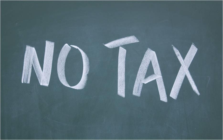 negara tanpa pajak